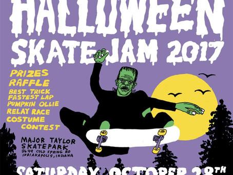 Indy Skate Advocates Halloween Skate Jam