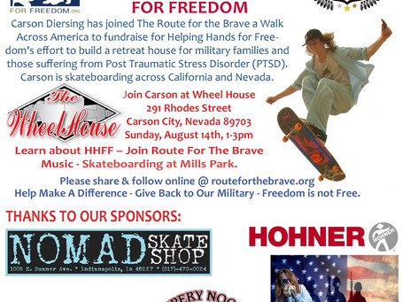 Helping Hands for Freedom - Route for the Brave