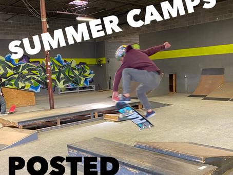 2021 Summer Skate Camps