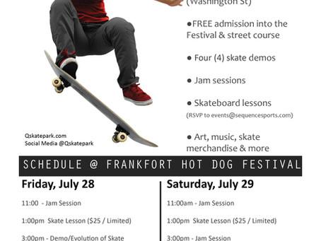 Frankfort Hot Dog Festival Skate Demo