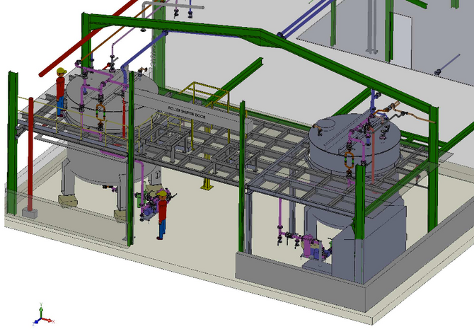 ESP DESIGN AND MANUFACTURE PLATFORMS & STEEL STRUCTURES IN ACCORDANCE TO EN 1090 STANDARDS