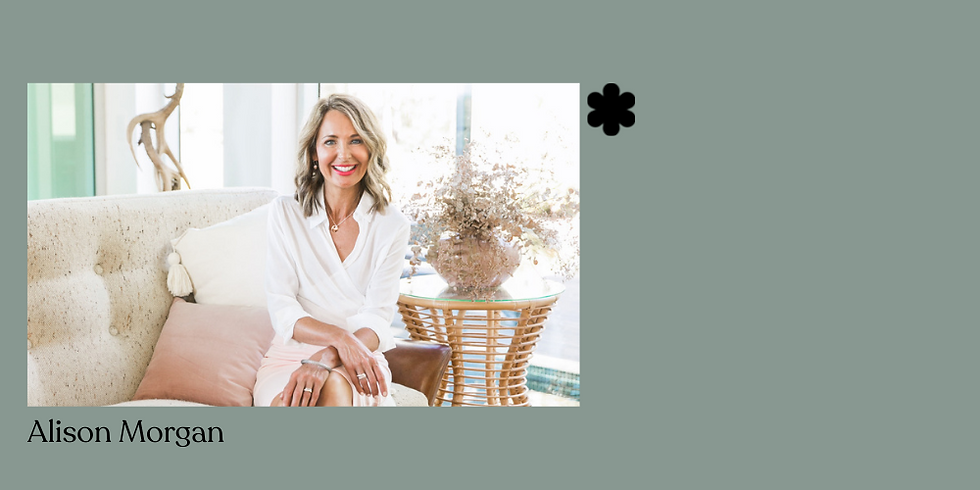 Virtual Fireside Chat With Alison Morgan -  Boosting Your Online Presence