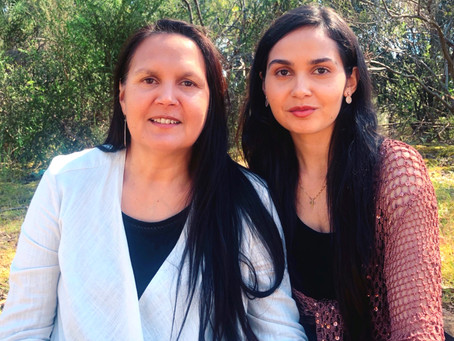 Indigenous Artists Lyn-Al and Judith Young On Family, Creativity, And Clean Beauty Favourites