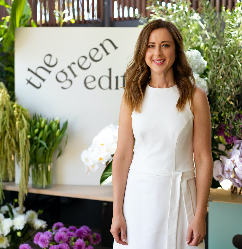 Cathy Tolpigin Founder of The Green Edit