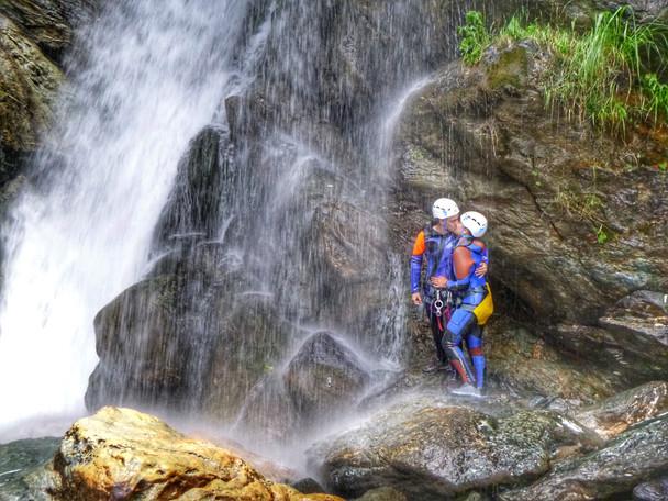 canyoning e natura per coppia, per gruppo di amici e per famiglie