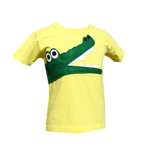 Kids Crocodile Tee