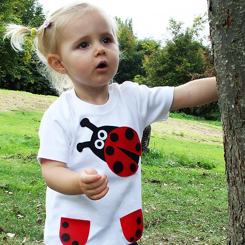 Organic Baby Ladybird Tee