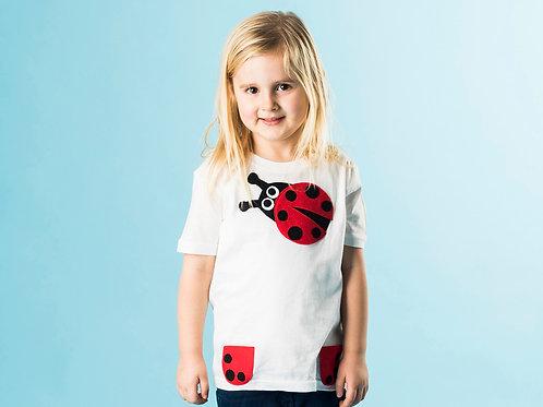 Kids Organic Ladybird Tee
