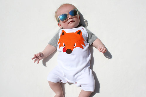 Organic Fox Playsuit