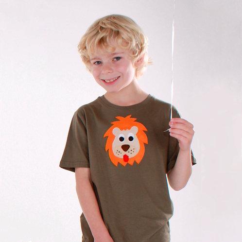 Kids Organic Lion Tee