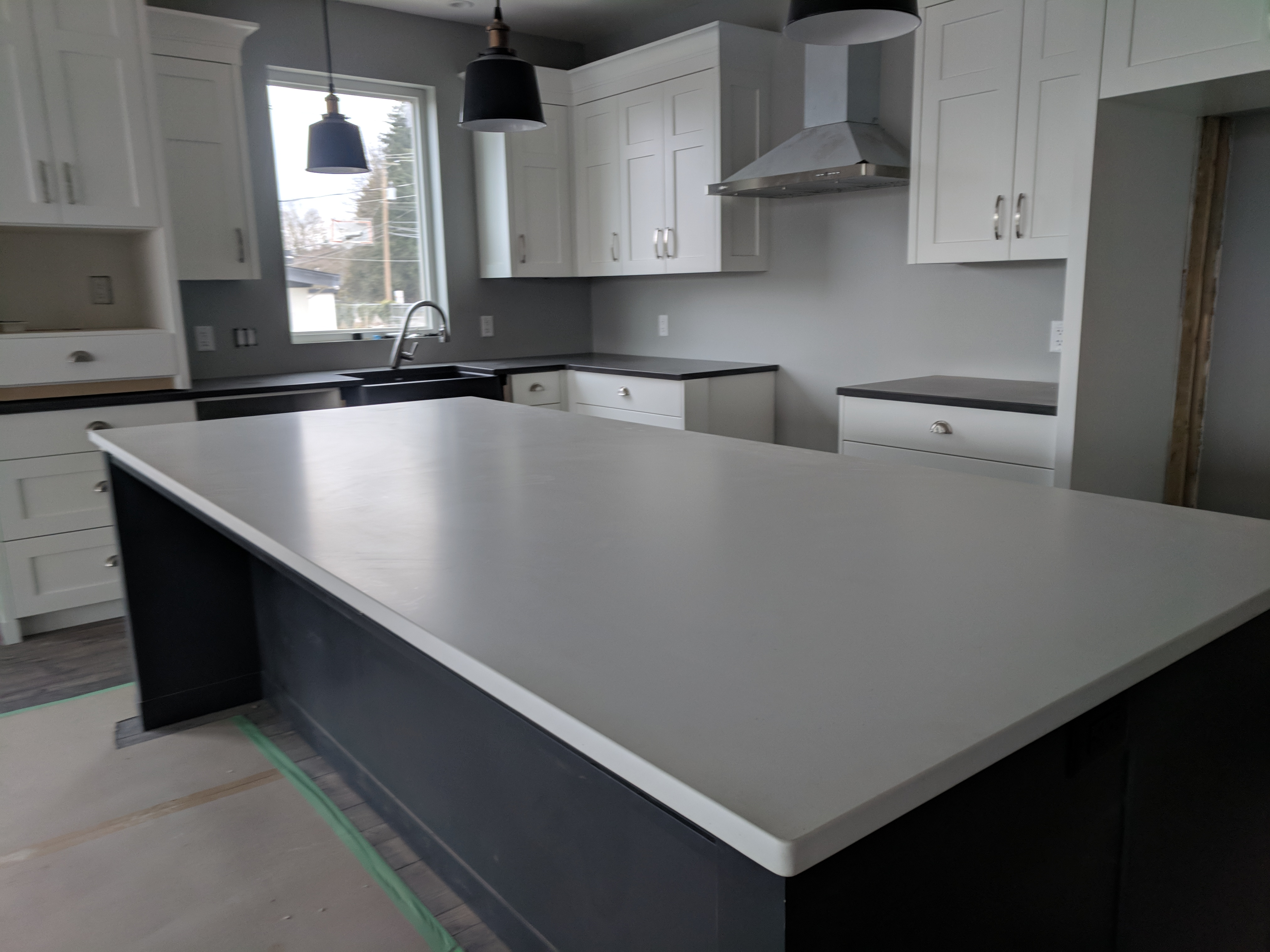 Sleek Concrete Caeserstone Quartz