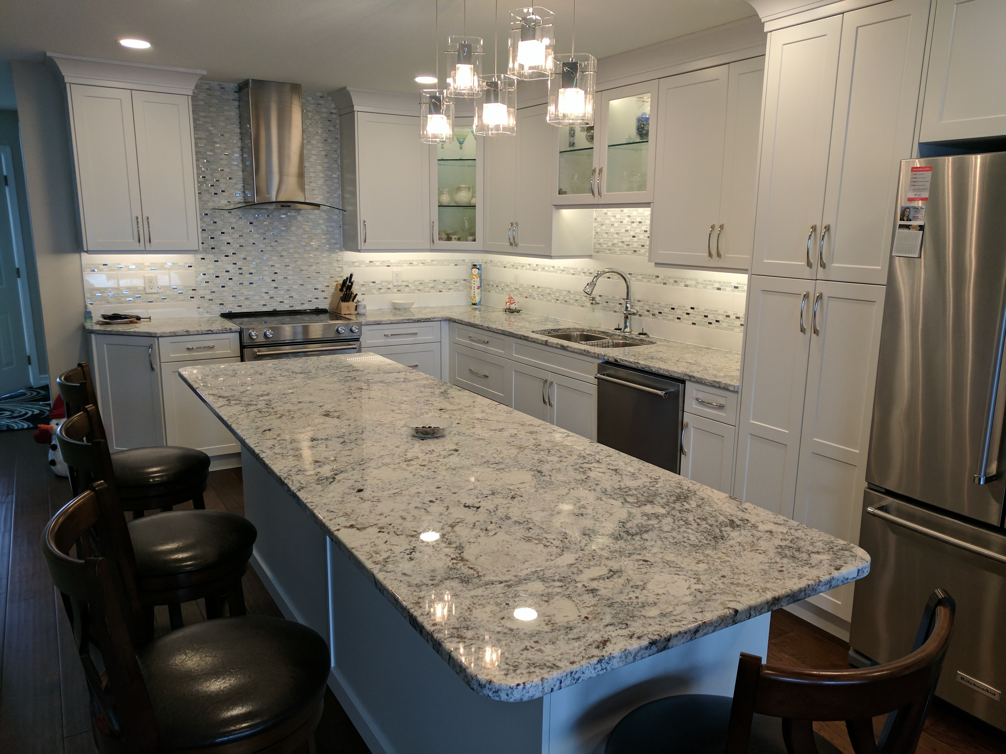 White Ice - Granite
