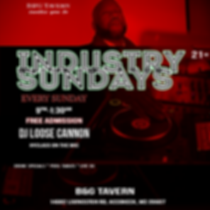 Industry Sundays DJ Cannon Red Filter1.p