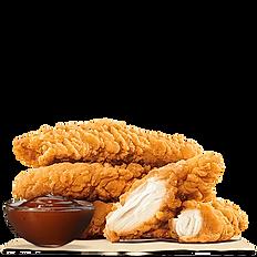 4 Chicken Tenders Strips + Fries