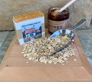 Oatmeal Honey with label and oats.jpg
