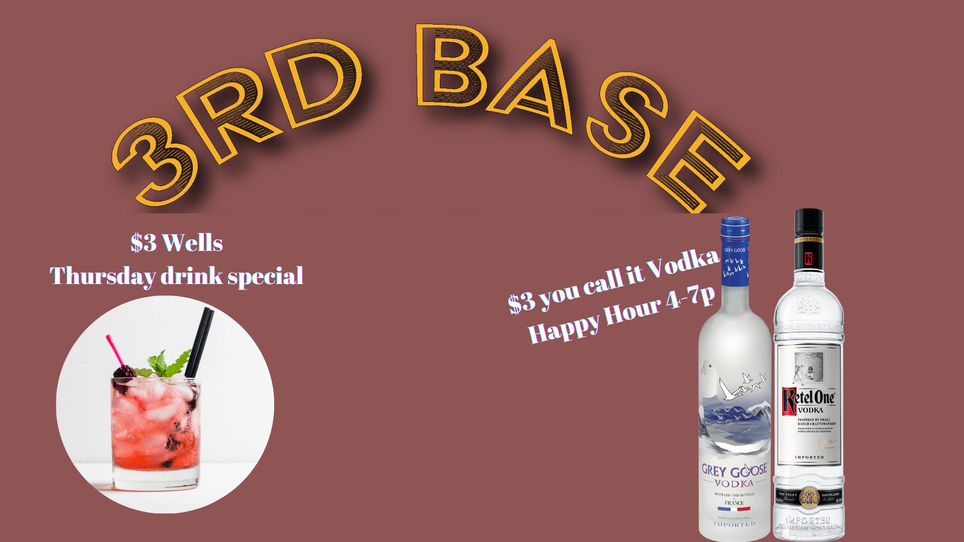 Thursday Drink Specials