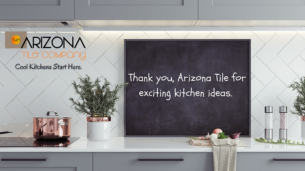 Thank you, Arizona Tile for exciting kit