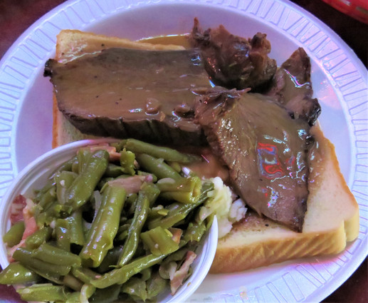 Ray's Open Face Roast Beef-Every Thursday