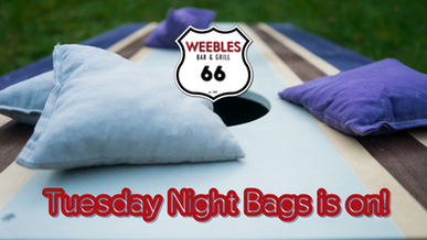 Weebles Tuesday Night Bags is on!.png