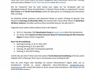 Newsletter vom 23. November 2016