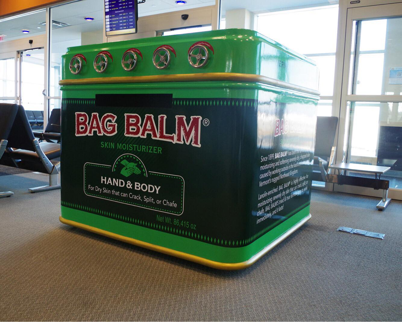 Bag Balm Vending Machine