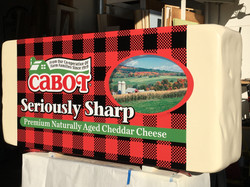 Giant Cabot Cheese Block