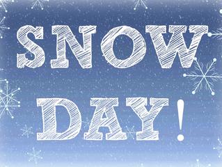 RAISE MONEY ON A SNOW DAY!