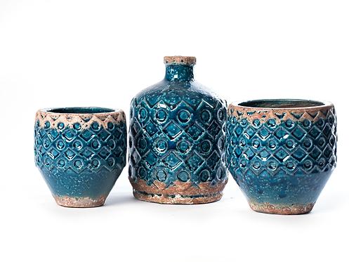 Conjunto taças de cerâmica 23