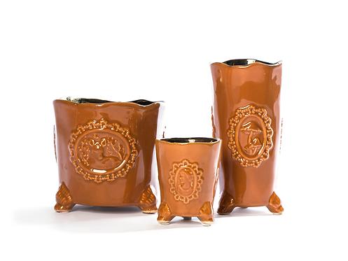 Conjunto taças de cerâmica 27