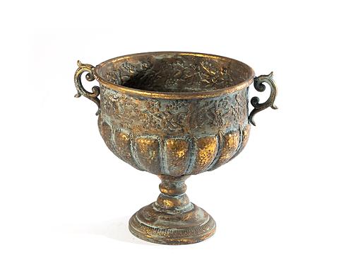 Taça de dourados e cobres grande 1