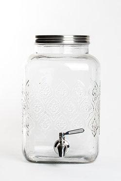 Dispensador de água de vidro