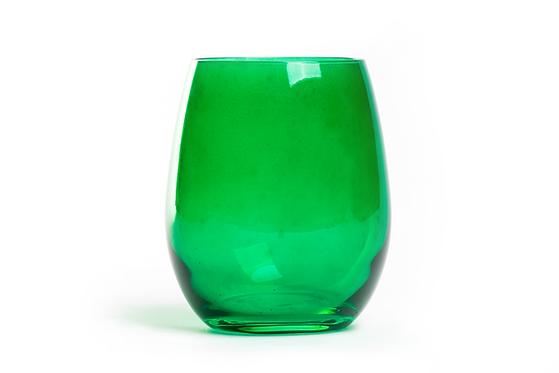 Copo Água  Verde s/ pé