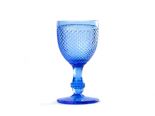 Copo Água Piquinhos Azul Vivo