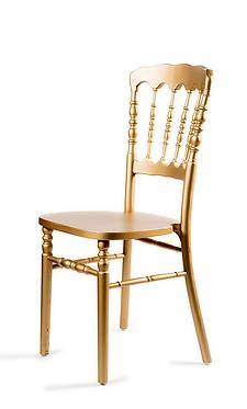 Cadeira Napoleão Dourada
