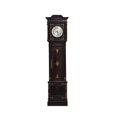 Relógio madeira de pé alto