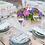Thumbnail: Mesa Vidro Quadrada com Forro de pé