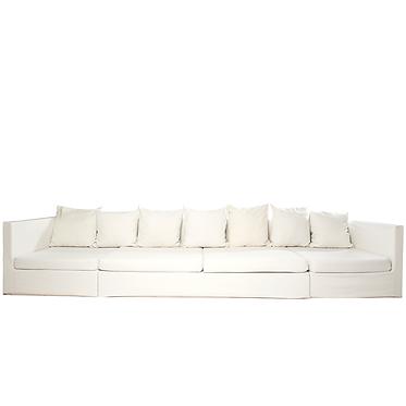 Sofá modular: cantos e costas