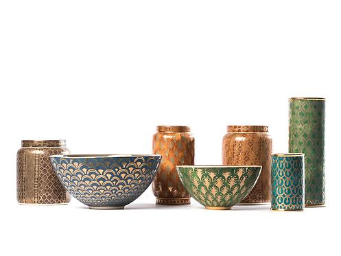 Conjunto taças de cerâmica 4