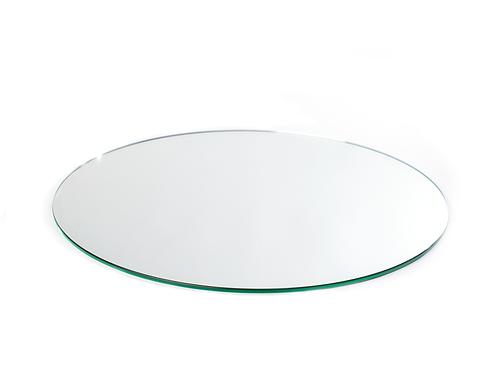Base de espelho redonda