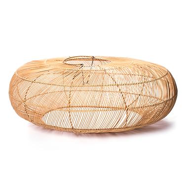 Candeeiro de Bambu Oval