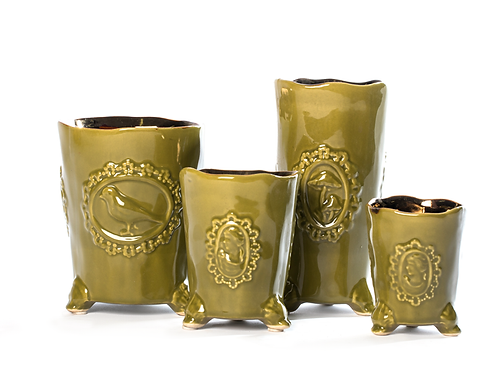 Conjunto taças de cerâmica 25