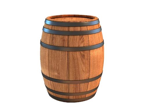 Mesa Alta c/ Pipa de Vinho