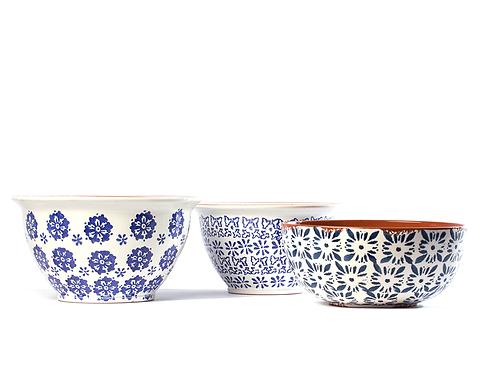 Conjunto taças de cerâmica 3