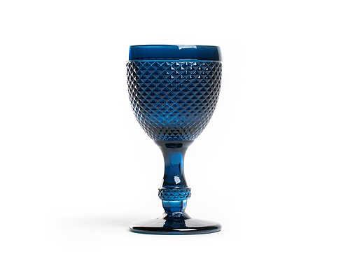 Copo Água Piquinhos Azul Escuro