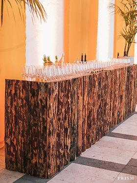 Bar Troncos De Madeira