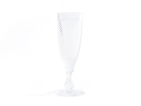 Flute Champagne Piquinhos Transparente