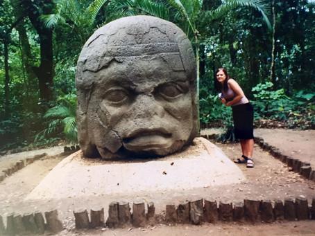 Villahermosa med Olmec-parken
