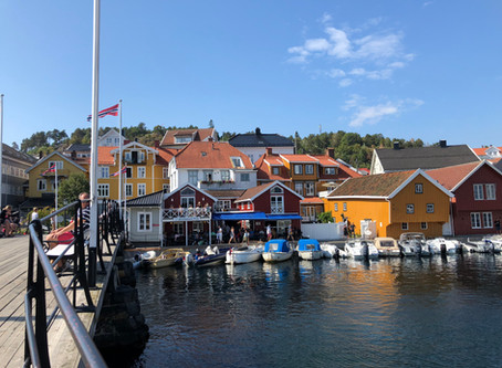 """En sommer er over i """"perlen"""" blant kystbyene"""