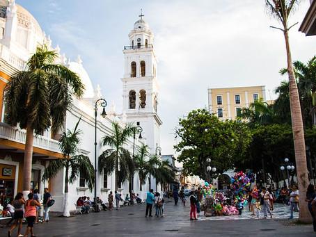 Mexico-gulfen og karnevalsbyen Veracruz