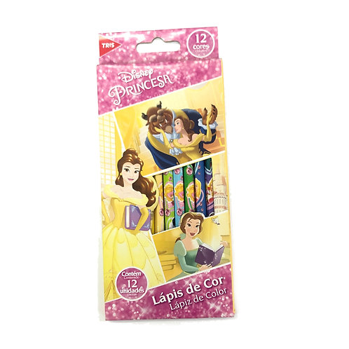 Lápis de Cor Princesas